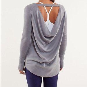 Lululemon Unity Open Back Drape Cashmere Sweater 4